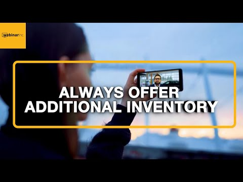 Always Offer Additional Inventory - Daily Tips to Successfully Sell Cars at a Dealership