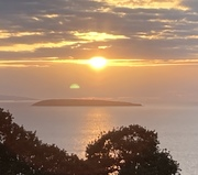 Sunset over anglesey
