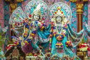 A visit to the beautiful Iskcon Temple of Juhu Beach