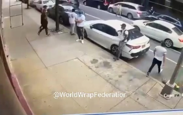 Bronx Shooting Caught On Tape