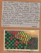 Mail art by Richard Canard (Carbondale, Illinois, USA)