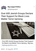 Jews declare their support for BLM.