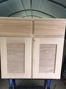 Base cabinet finished
