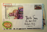 Mail art by Sinclair Scripa (Ludlow, Vermont, USA)