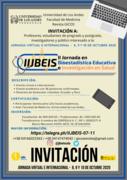 II Jornadas en Bioestadística Educativa e Investigación en Salud