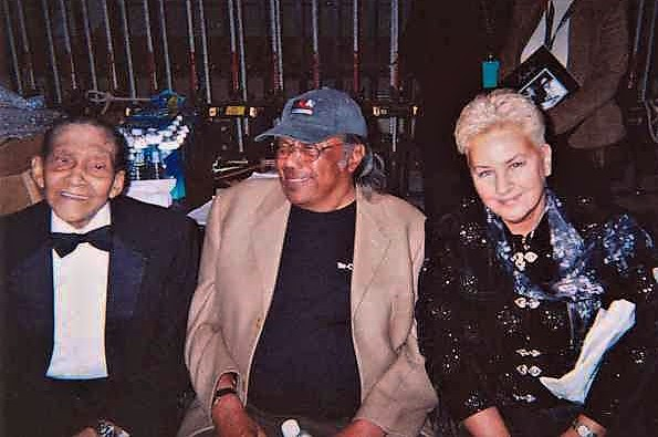 Jimmy & Jeanie Scott with Horace Silver   ~  2004  ~