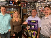 Was On MeTV's Collector's Call, S2E6, Meet Fred,with Lisa Whelchel,showing our Batman, catwoman, figuare set