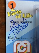 I was On, MeTV's, Collector's Call, S2E6, Meet Fred,with, Lisa Whelchel, Lisa was nice enough to sign 2 Mego, Facts Of Life, Blair,  Dolls