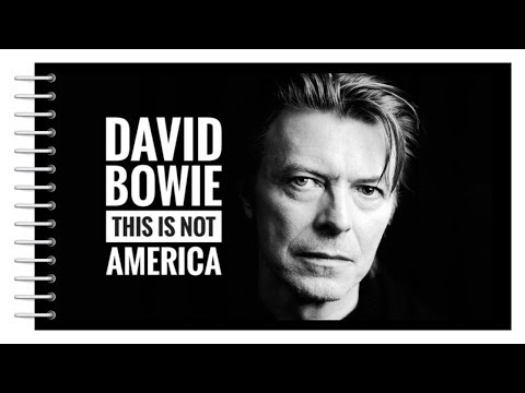 David Bowie - This Is Not America (1985) HQ