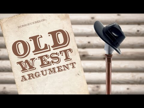 Old West Argument