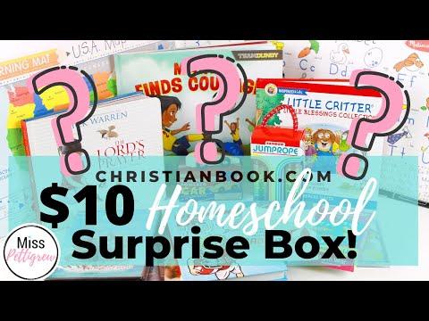How to Homeschool 101: Homeschool Surprise Box! Christianbook.com 2020