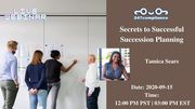 Secrets to Successful Succession Planning