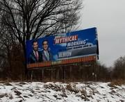Mythical billboard