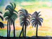 Tree Sky II mixed media on canvas RLO jan 2019 compressed