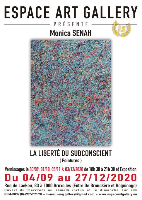 Affiche Monica SENAH nouv