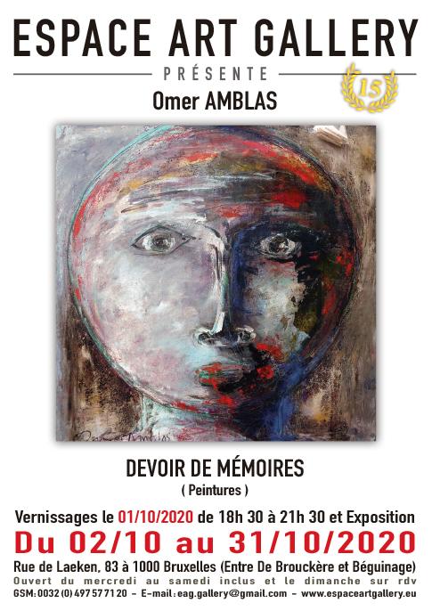 Affiche Omer AMBLAS