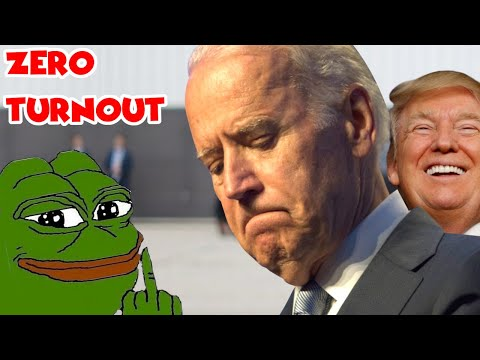 Joe Biden Holds Rally   Only Trump Supporters Show Up To Mock Him!