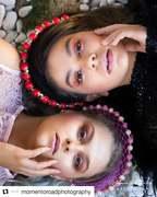 Beautiful photo of my headbands for DQ Magazine