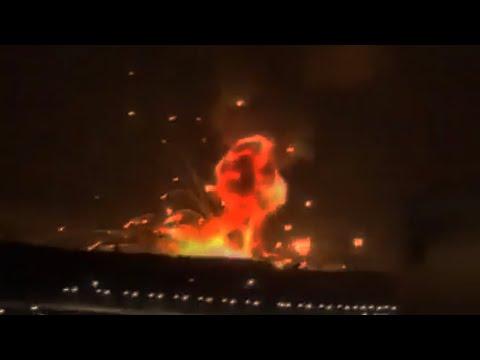Ammo Depot Goes up in Smoke in Zarqa, Jordan