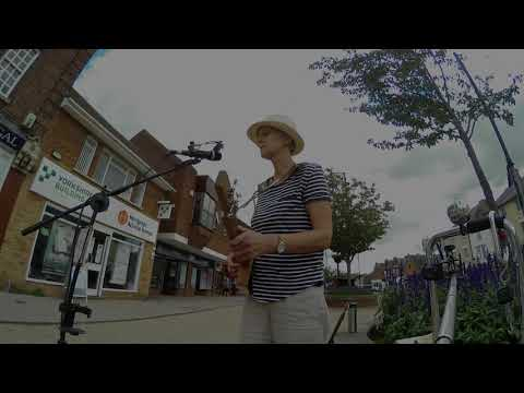 Original Slide Delta Blues Tune On  3 String Cigar Box Guitar From This Week's Busk