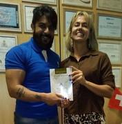 Paula Mary (Delegada de Policia Federal do RJ) e Rildo Silveira (Perito do TJRJ)