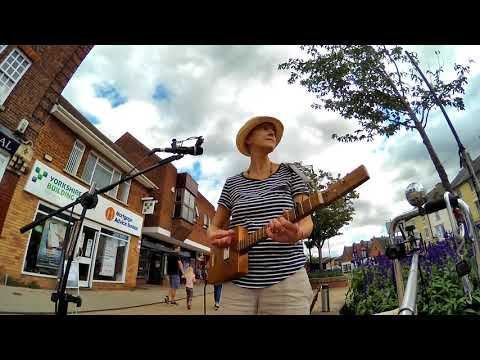 """""""Let Go"""" on 3 String Cigar Box Guitar From This Week's Busk"""