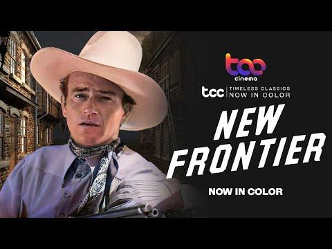 NEW FRONTIER (Full Movie) - John Wayne - Ray Corrigan - TCC AI Color