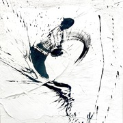 Abstrakte Kalligrafie 4 ways