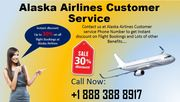 To get instant discount dial Alaska Airlines Phone number +1 888 388 8917