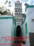 20.3.2018 Plaque commémorative du mausolée de Sidi-Abderrahmane (3)