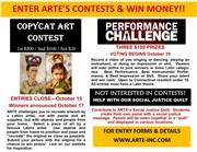 WIN MONEY!!! COPYCAT ART CONTEST & PERFORMANCE CHALLENGE