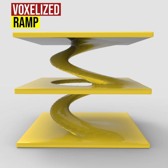 Voxelized Ramp