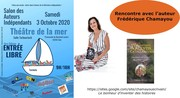 Dédicace au Salon du livre de Sète (France-Hérault)