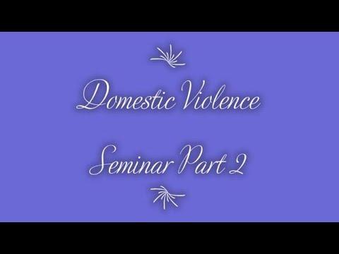 "DV Seminar - Part 2 - S1 - Part 1D (""God's Final Word, & Scriptures & Prayer"") on 9-14-2020."
