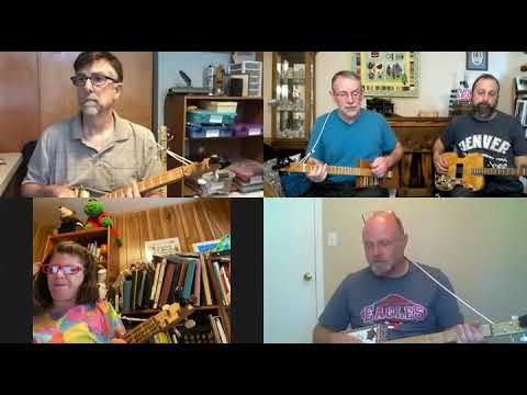 When the Roll Is Called Up Yonder: 3-String Cigar Box Guitar