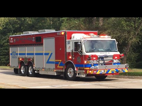Woodlands, Texas Rescue 101 Responding