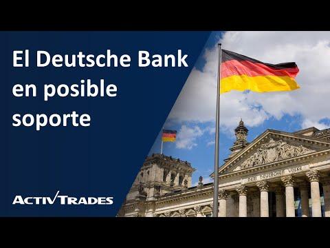 Video Análisis: El Deutsche Bank en posible soporte