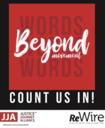 "Beyond Words: ""Count us …"