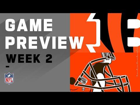 Cincinnati Bengals vs. Cleveland Browns Week 2 NFL Game Preview