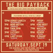The Big Payback (Twitch Raid Party for a Good Cause)