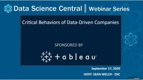 DSC Webinar Series: Critical Behaviors of Data-Driven Companies