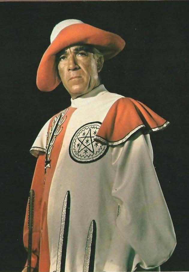 Anthony Quinn as The Magus 1968
