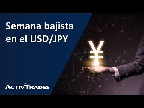 Video Análisis: Semana bajista en el USD/JPY