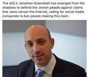 The ADL's Kikle Minion Jonathan Greenblatt of Jewish Propaganda Insanity
