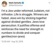 No such jewish kikles exist,all talmudic judaic jewery want the gentiles enslaved in debt or dead