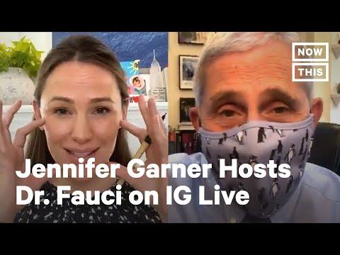 Dr. Fauci and Jennifer Garner Talk COVID-19 & Kids | NowThis