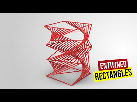 Entwined Rectangle