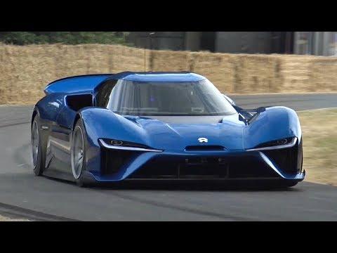 1360HP NIO EP9 - World's Fastest Electric Road Car