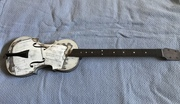 Violin bodied guitar build