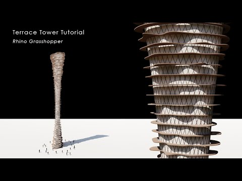 Terrace Tower Rhino Grasshopper Tutorial